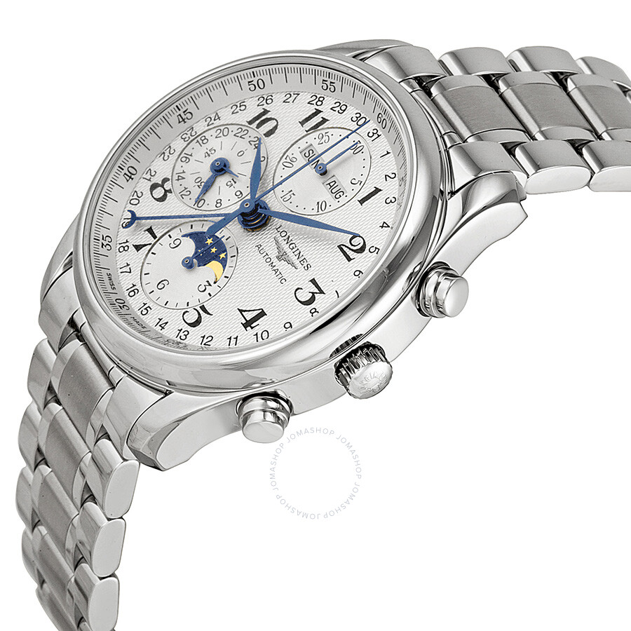Longines Master Collection Automatic Chronograph Men's Watch L26734786  Longines Master Collection Automatic Chronograph Men's Watch L26734786 ...