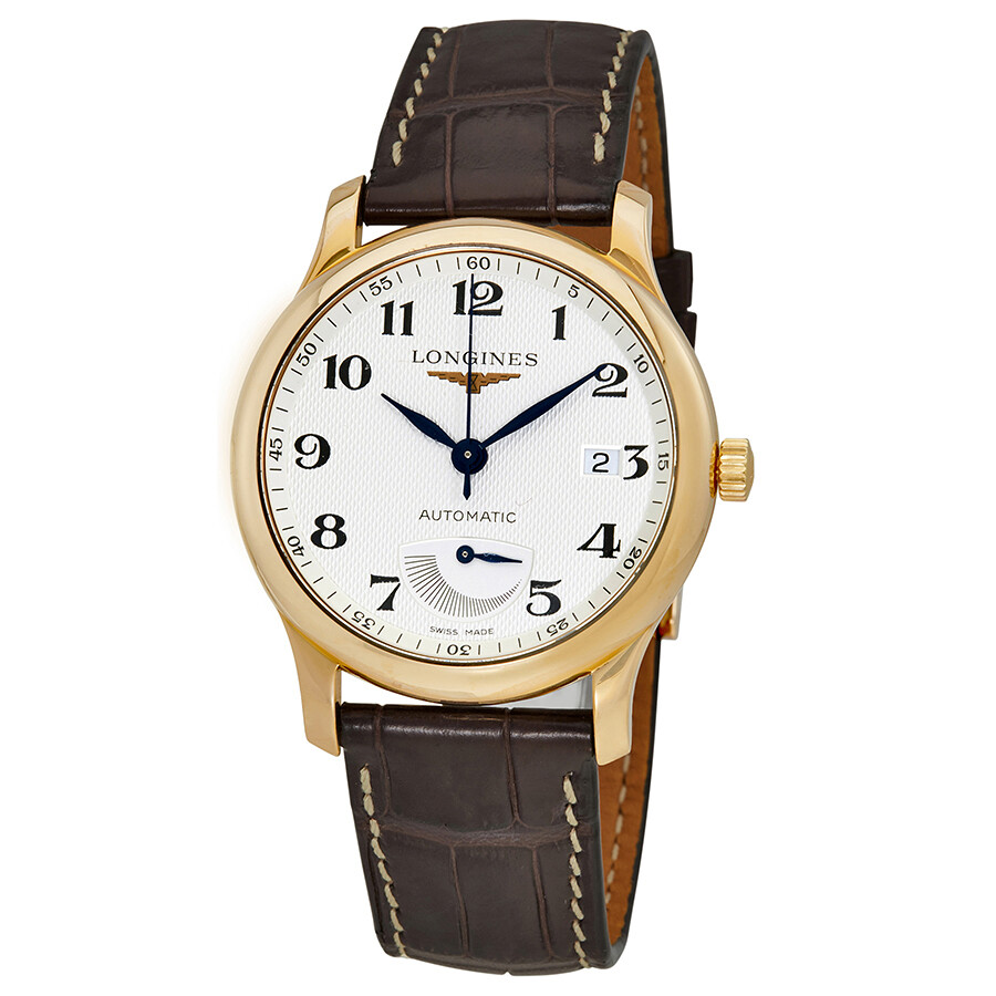 longines master collection s 18 carat gold
