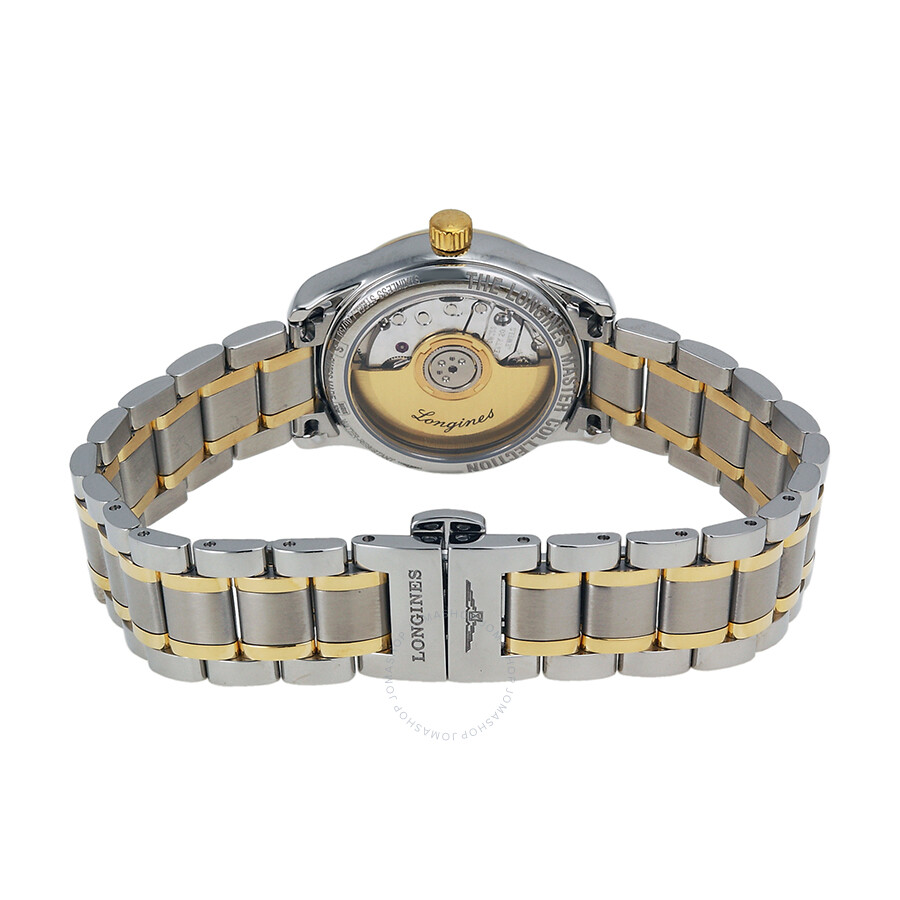 Master Collection Silver Dial Ladies Watch L2.128.5.77.7