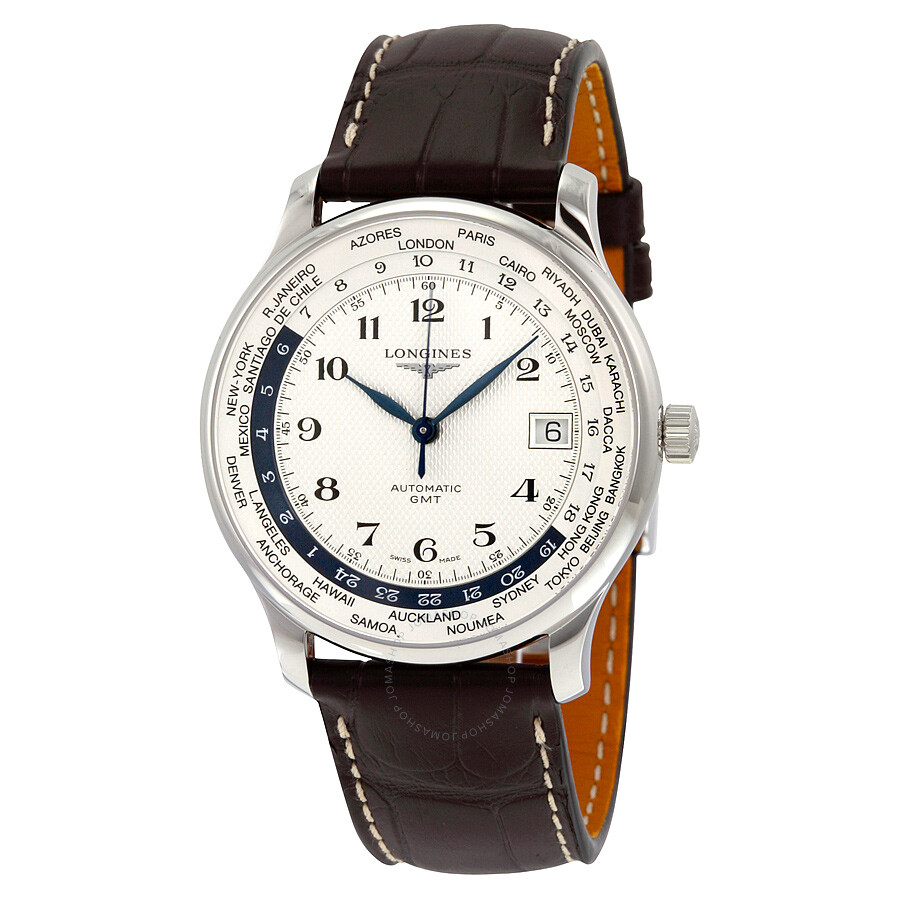Longines Master Collection World Time Automatic GMT Steel ...