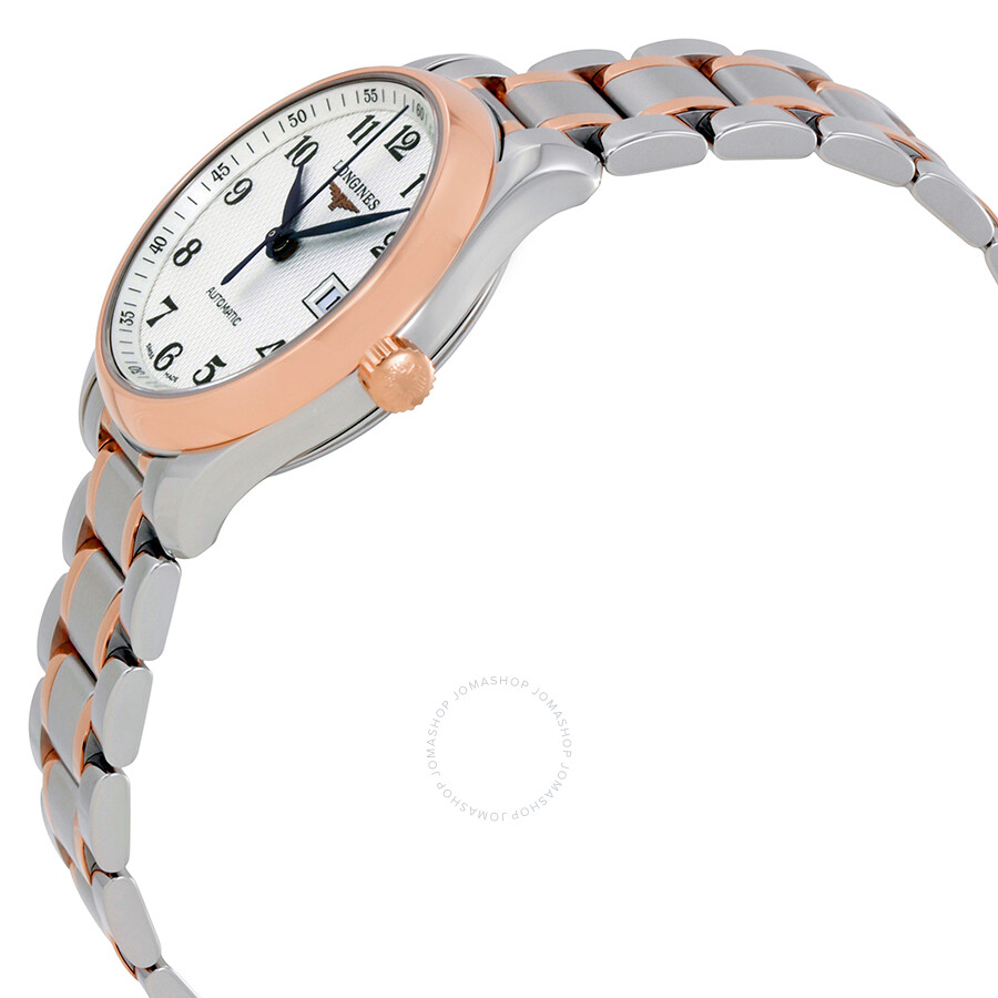 Master Automatic Silver Dial Ladies Watch L2.257.5.79.7