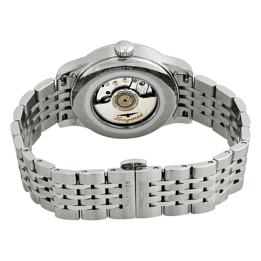 Record Automatic Chronometer Diamond Black Dial Ladies Watch L2.321.4.57.6