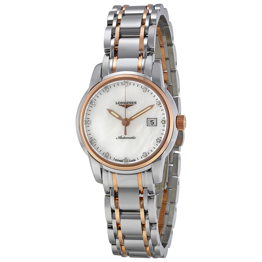 longines imier of pearl gold and