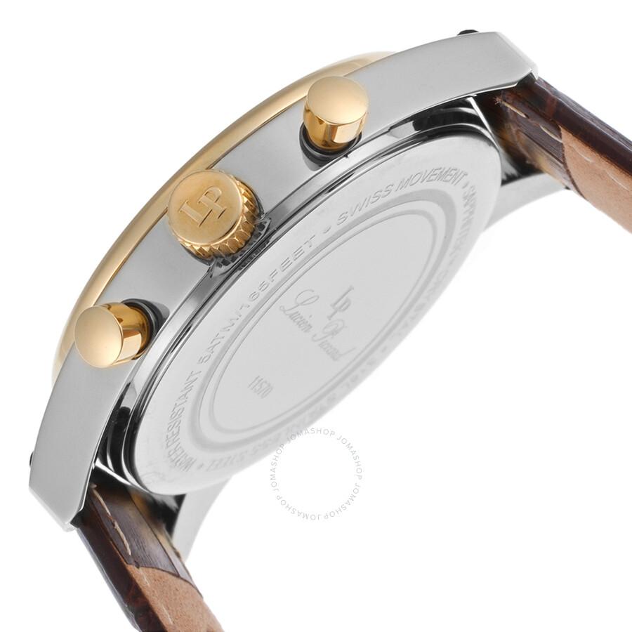 c9baa501fd Lucien Piccard Eiger Chronograph Men s Watch LP-11570-02S-GB ...