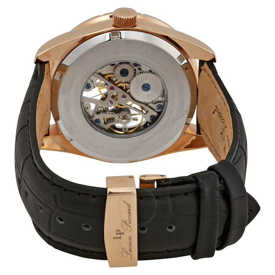 lucien piccard hampton mechanical men s watch lp 40028m rg 02s lucien piccard hampton mechanical men s watch lp 40028m rg 02s