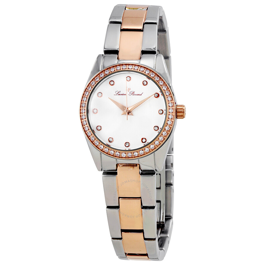 Lucien piccard labelle crystal ladies watch 40023 sr 22 lucien piccard watches jomashop for Crystal ladies watch