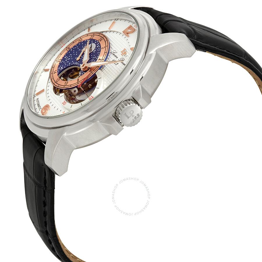 fc6301dc94c7 ... Lucien Piccard Nebula Moon Accent Automatic Men s Watch LP-15156-02S-RA  ...