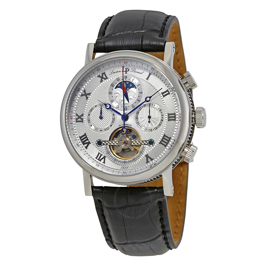 lucien piccard ottoman silver automatic s