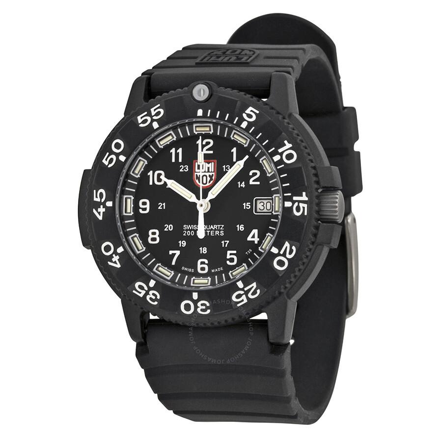 Luminox 3000 original navy seal dive series black men 39 s watch 3001 luminox watches jomashop - Navy seal dive watch ...