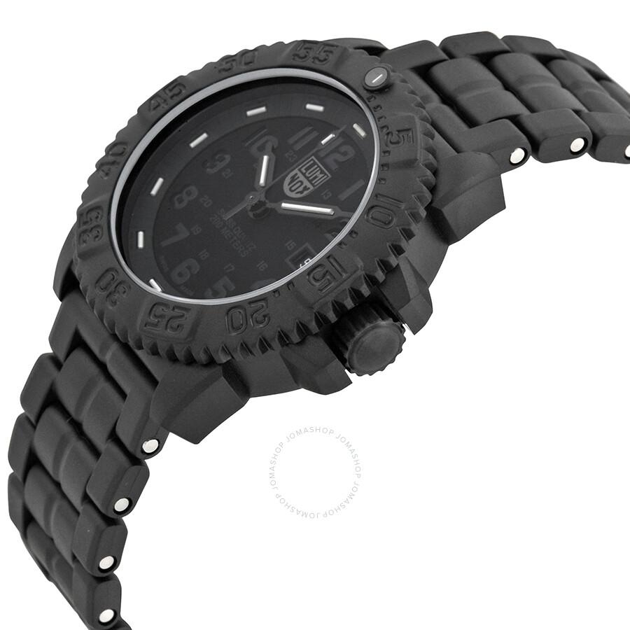 Luminox Navy Seal Colormark All Black Men S Watches 3052 Bo