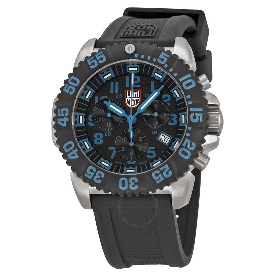 luminox watches jomashop luminox navy seal colormark chronograph black dial men s watch 3183