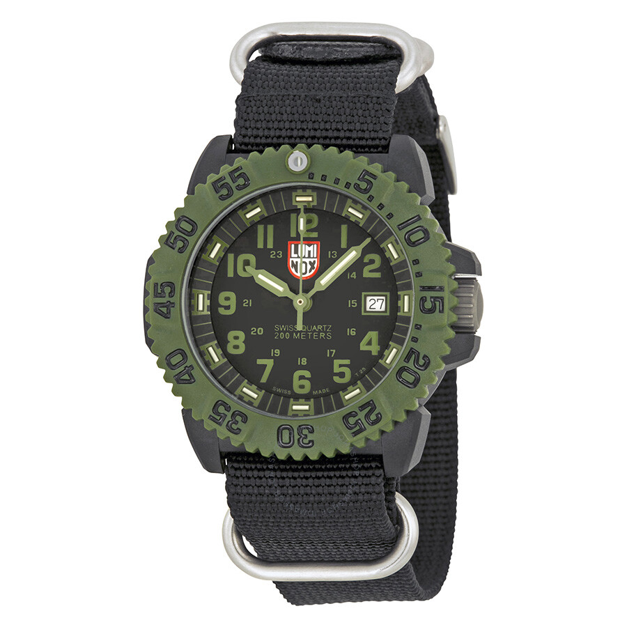 Luminox od military series nylon strap men 39 s watch 3041 luminox watches jomashop for Luminox watches