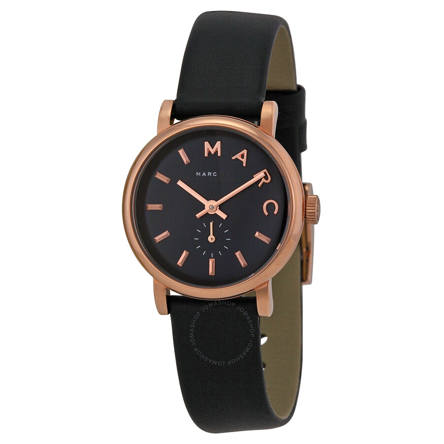 marc by marc jacobs baker navy dial navy leather ladies watch mbm1331 marc by marc jacobs. Black Bedroom Furniture Sets. Home Design Ideas