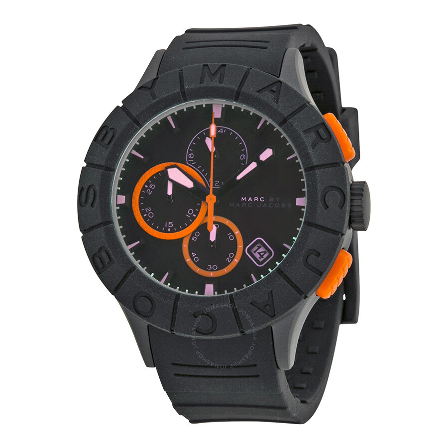 marc by marc jacobs buzz ombre shaded dial black plastic men s watch mbm5546 1 jpg marc by marc jacobs mens watches