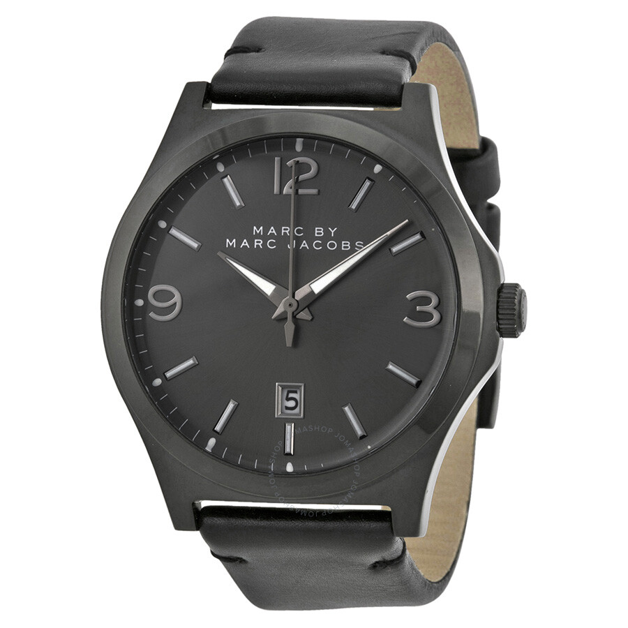 marc by marc jacobs danny black dial black leather men 39 s watch mbm5041 marc by marc jacobs. Black Bedroom Furniture Sets. Home Design Ideas