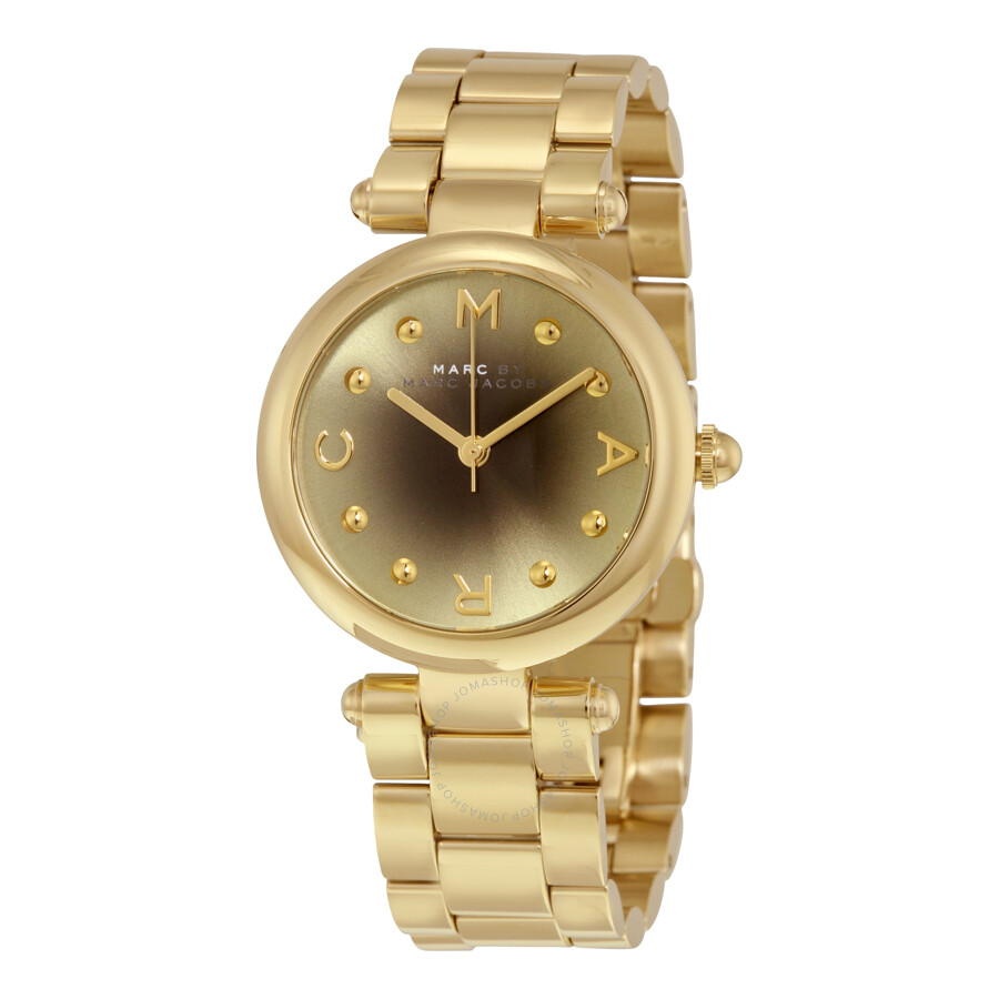 Marc by marc jacobs dotty gold to black gradient dial quratz ladies watch mj3448 marc by marc for Gradient dial watch