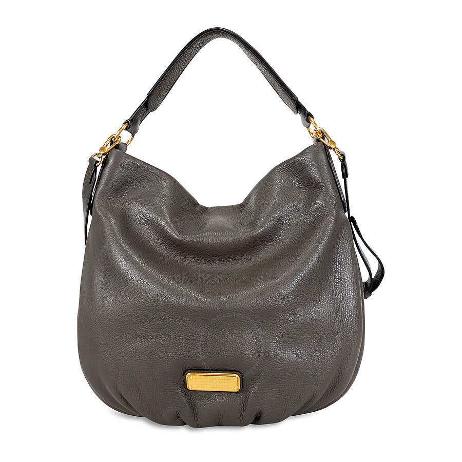 d363273467c Marc by Marc Jacobs New Q Hillier Hobo Shoulder Bag- Faded Aluminum Item  No. M0005340-057