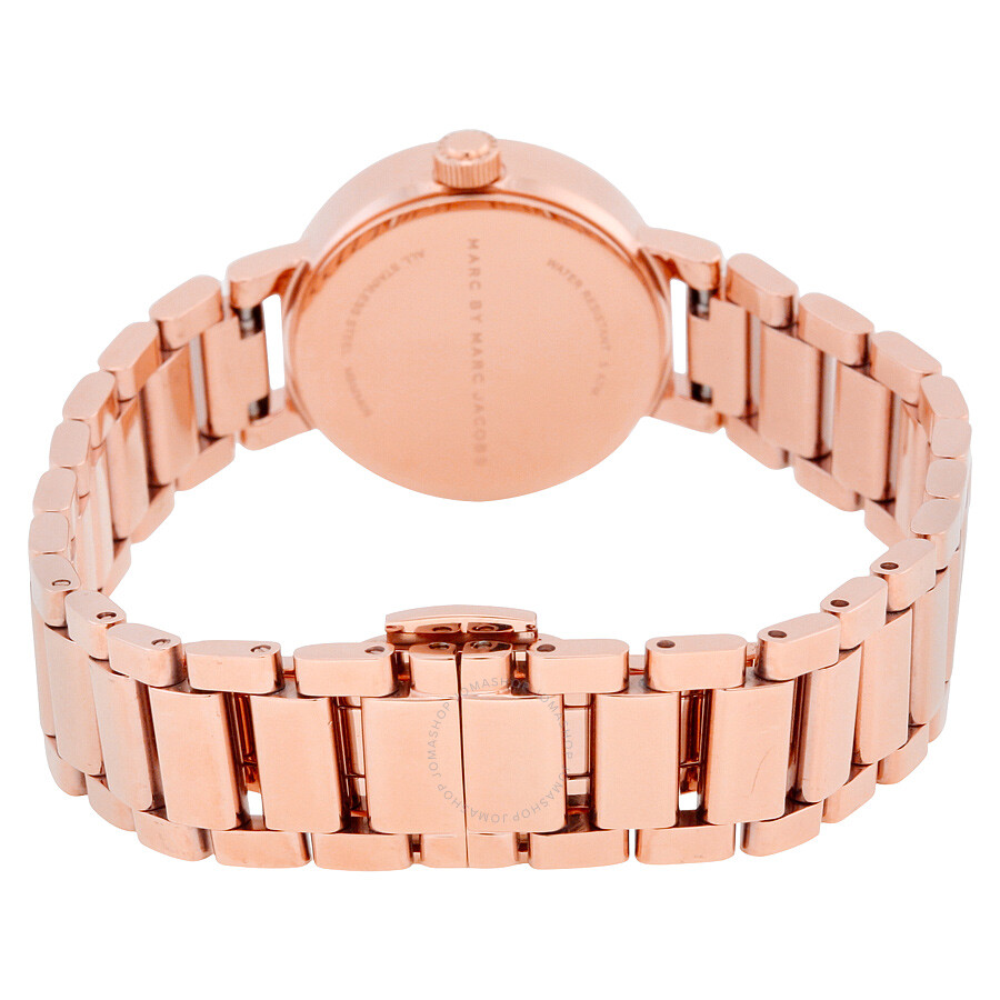 marc by marc jacobs peggy rose gold tone ladies watch