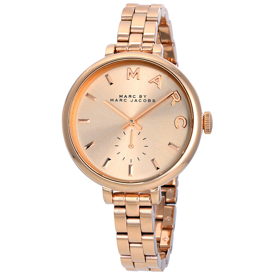 marc by marc jacobs sally rose dial rose goldtone ladies
