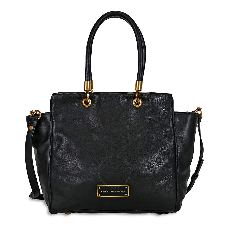 204a6e82c7 Marc by Marc Jacobs Too Hot to Handle Bentley Leather Tote - Black Item No.  M0001341A-001