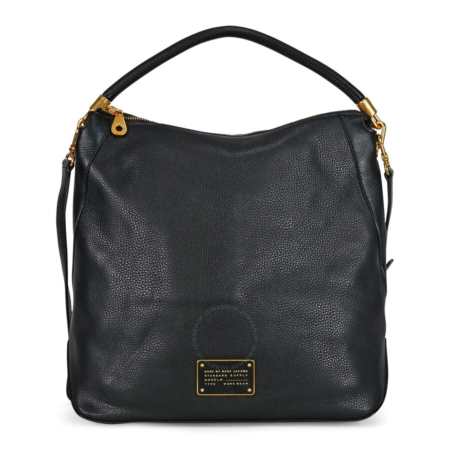 e05745d64d5 Marc by Marc Jacobs Too Hot To Handle Leather Hobo Bag - Black ...