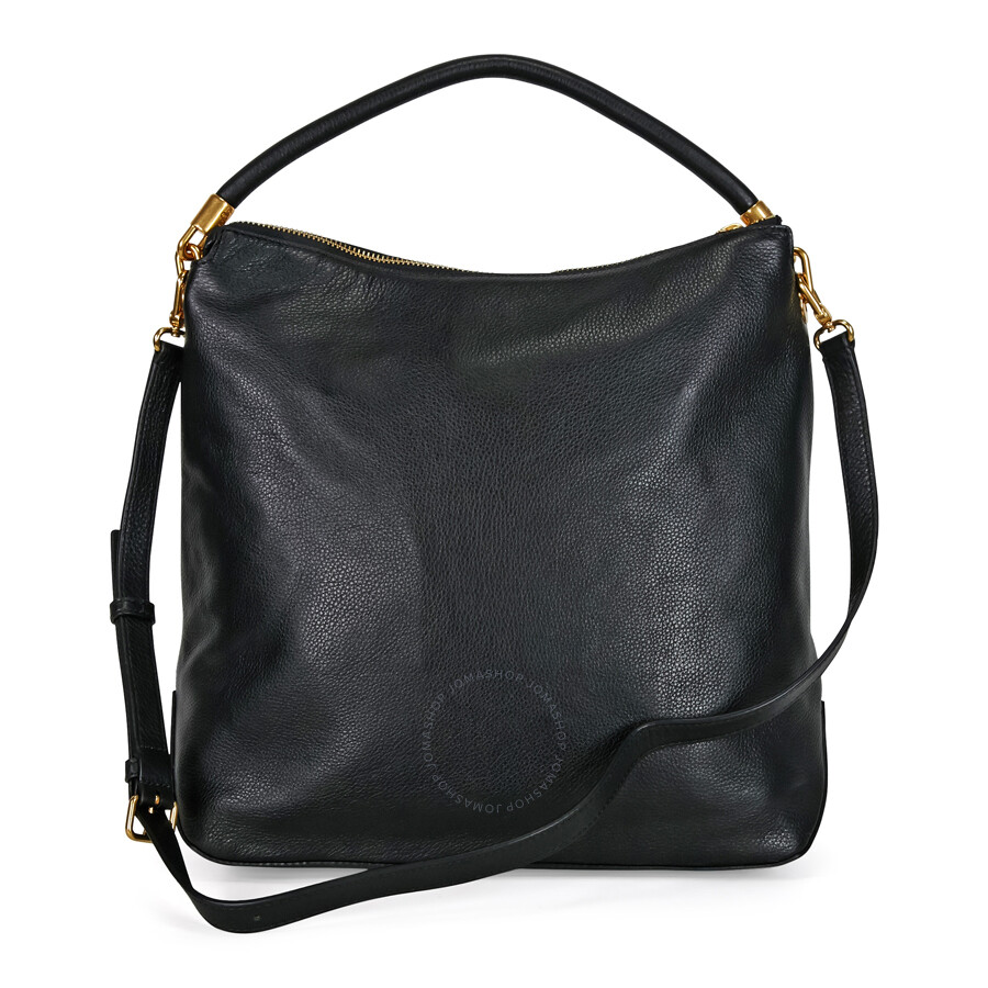 9fc359484682 Marc by Marc Jacobs Too Hot To Handle Leather Hobo Bag - Black ...