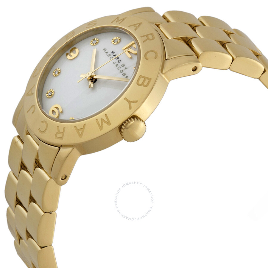 4a4b70b63e83c Marc by Marc Jacobs Amy White Dial Ladies Watch MBM3056 - Marc by ...