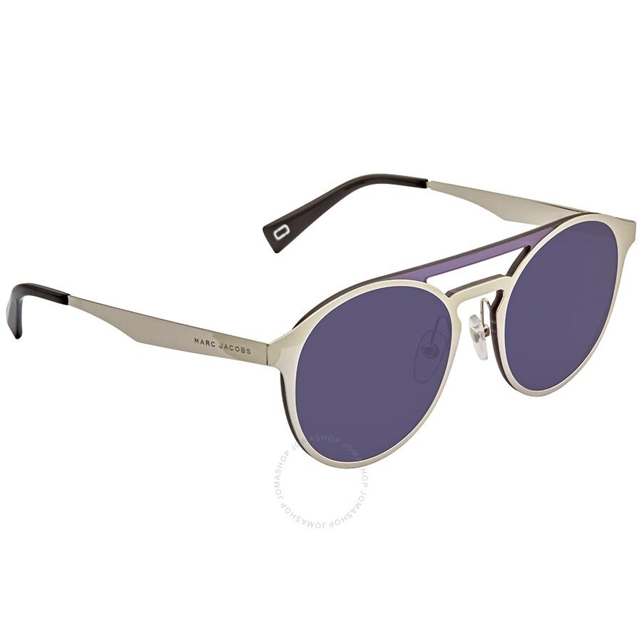 Sunglasses Unisex Round Marc 99 Blue Sky Jacobs Xt Mirror 0010 Marc199s m8vNnOw0