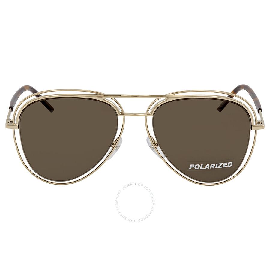 316c6f1e5afb ... Marc Jacobs Bronze Aviator Polarized Sunglasses MARC7S 0SKT SP 54 ...