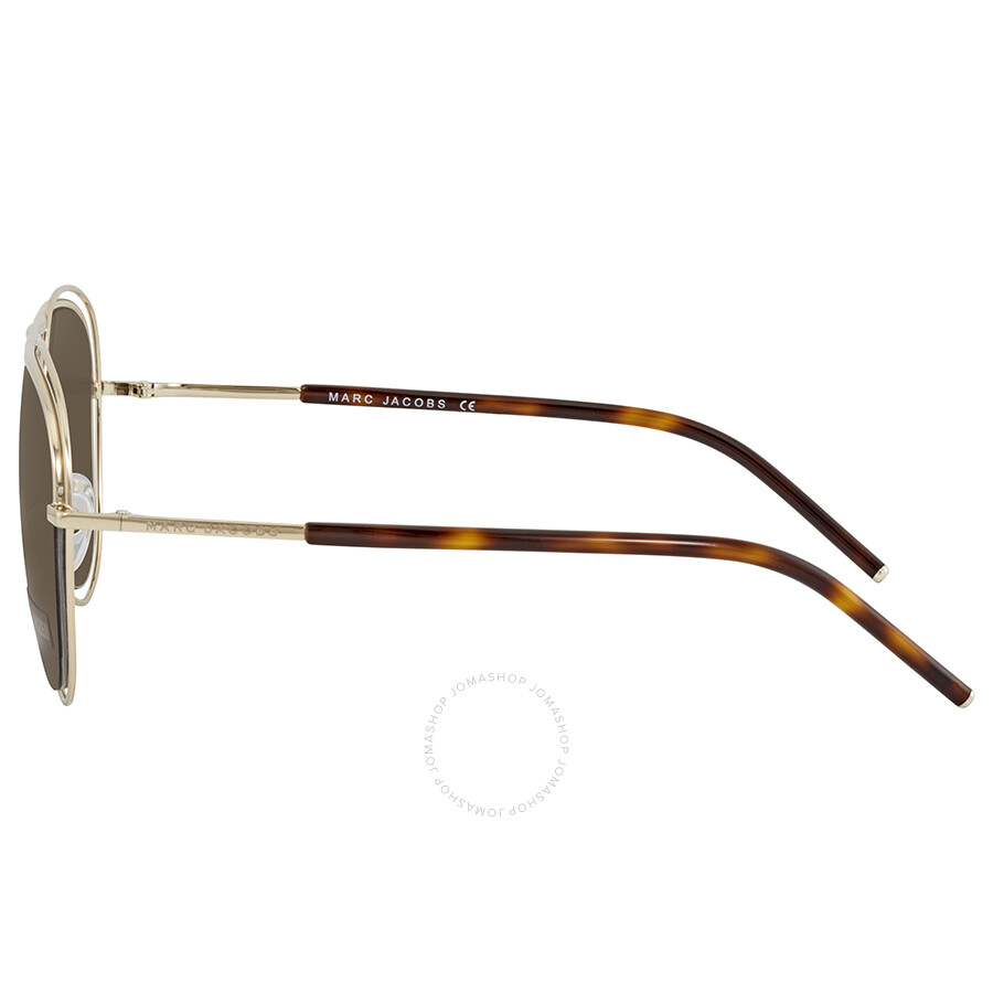 10eb70941d96 ... Marc Jacobs Bronze Aviator Polarized Sunglasses MARC7S 0SKT SP 54