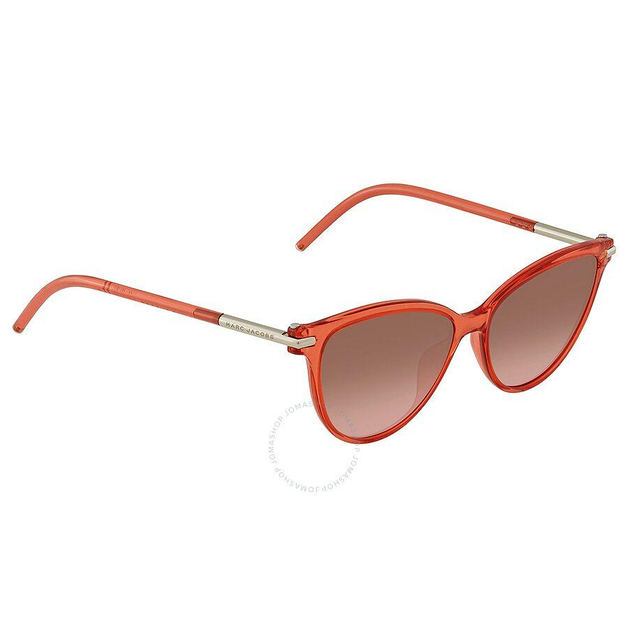 4113356b4006 Marc Jacobs Brown Coral Gradient Cat Eye Ladies Sunglasses MARC 47 S 0TOT  FX 53 ...