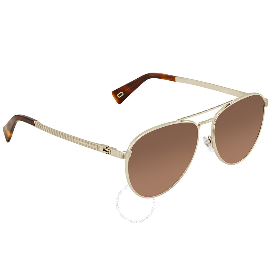 b4f9c6d0b Marc Jacobs Brown Gradient Aviator Sunglasses MARC240S 03YG LA 59 Item No.  MARC240S 03YG LA 59