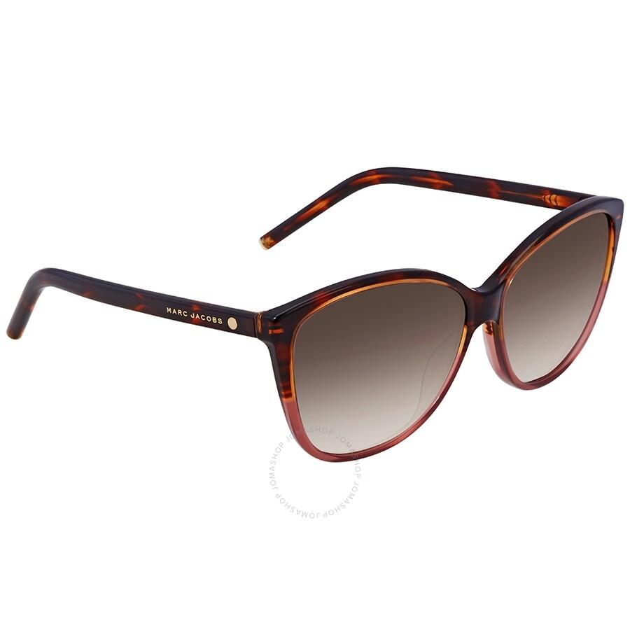 fa692c344859 Marc Jacobs Burgundy Havana Sunglasses MARC 69/S 002A 58 - Marc ...
