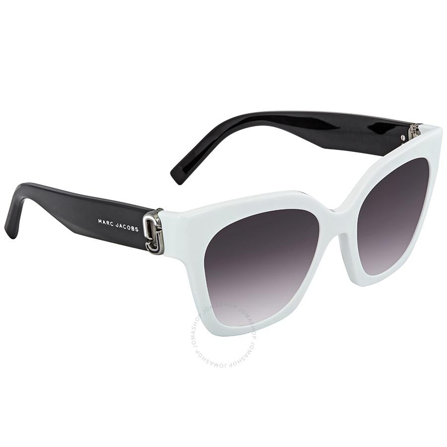 bea813a4e8 Marc Jacobs Dark Gray Gradient Square Ladies Sunglasses MARC 182 S 0CCP 9O  52 ...
