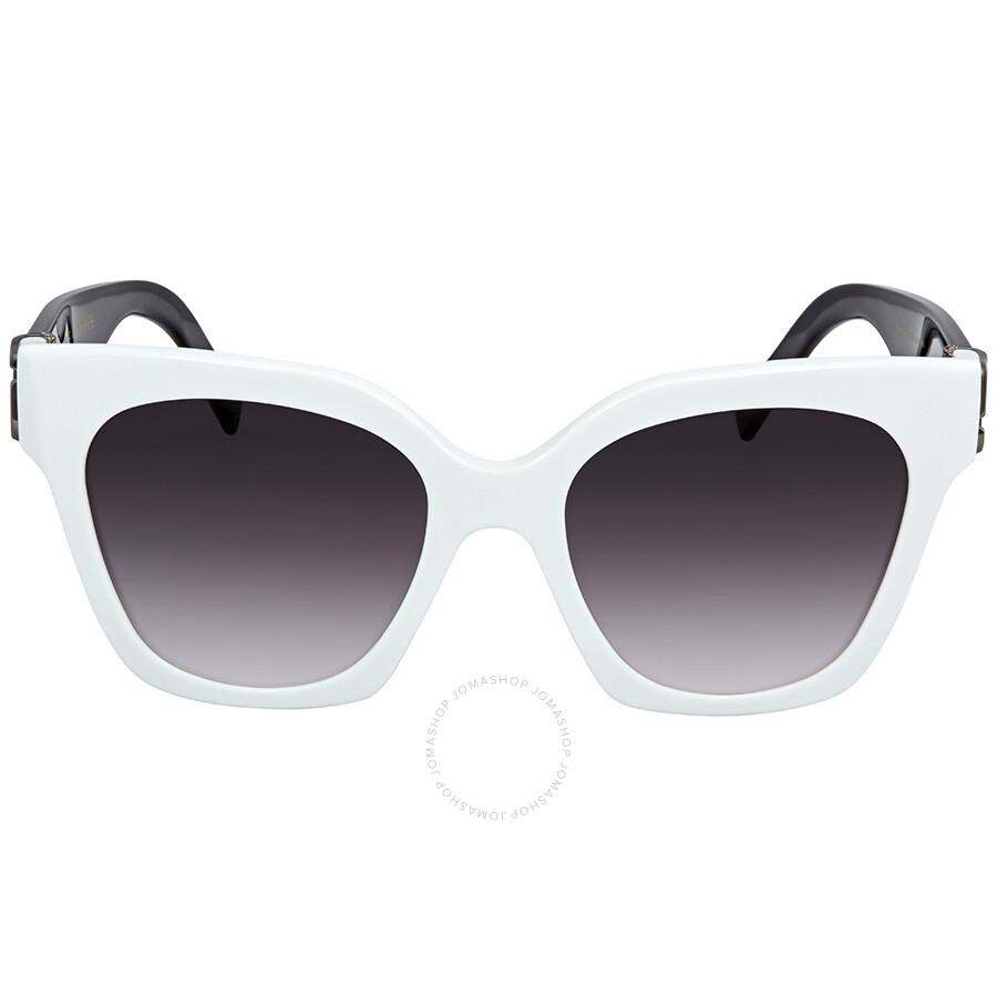 6eaa448aef ... Marc Jacobs Dark Gray Gradient Square Ladies Sunglasses MARC 182 S 0CCP  9O 52 ...