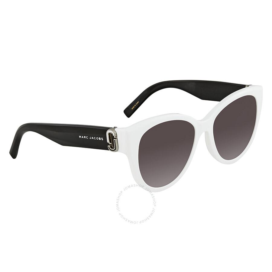 69a1150b6b79 Marc Jacobs Dark Grey Gradient Cat Eye Ladies Sunglasses MARC 181 S 0CCP 9O  54 ...