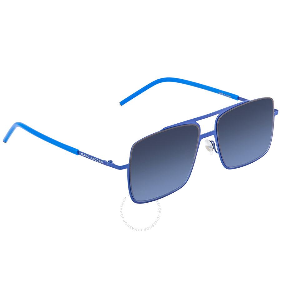 37fc5faeff Marc Jacobs Gray Flash Silver Rectangular Ladies Sunglasses MARC 35 S 0W3B  HL 55 ...
