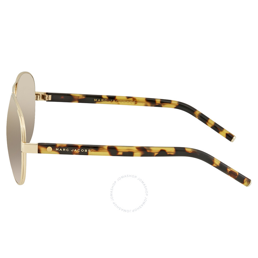 7ccfba7bba5 Marc Jacobs Gunmetal Mirror Aviator Sunglasses MARC 66 S 08VI HJ 60 ...