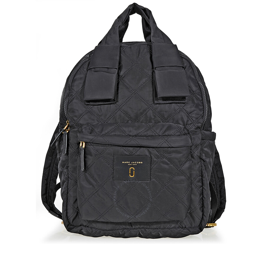 86ed1097aa2923 Marc Jacobs Large Nylon Backpack-Black - Marc by Marc Jacobs ...
