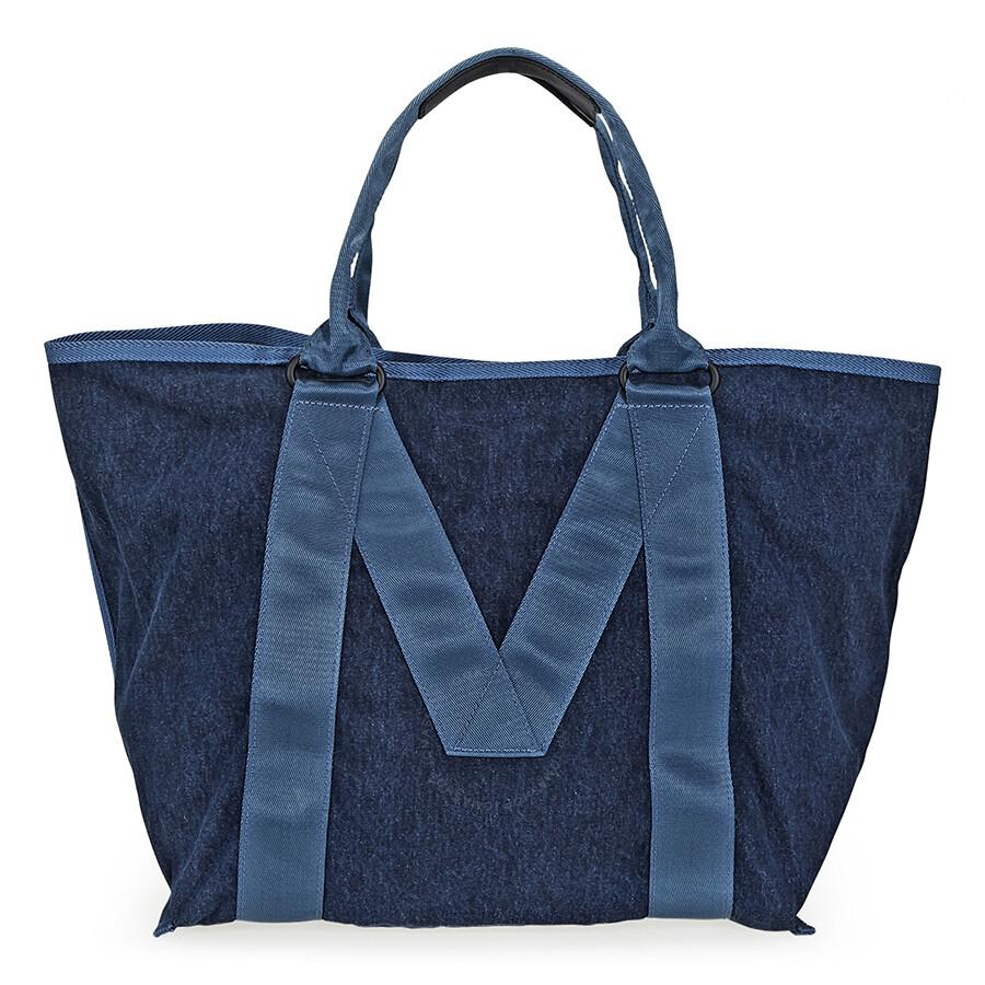 d877a977461e Marc Jacobs Logo Tote- Denim - Marc by Marc Jacobs Handbags ...