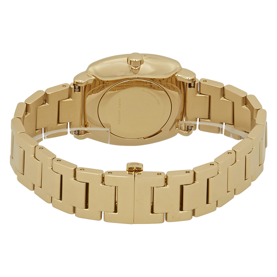97f09647a Marc Jacobs Mandy Gold Tone Dial Ladies Watch MJ3549 - Marc Jacobs ...