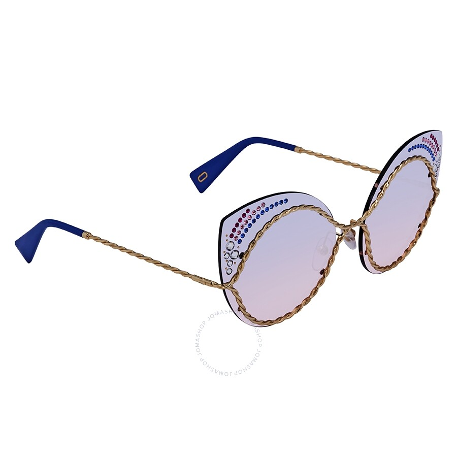 c569f0b62f25 Marc Jacobs Marc Blue Gradient Cat Eye Ladies Sunglasses MARC 161/S/STR  0BR0 61 Item No. MARC 161/S/STR 0BR0 61