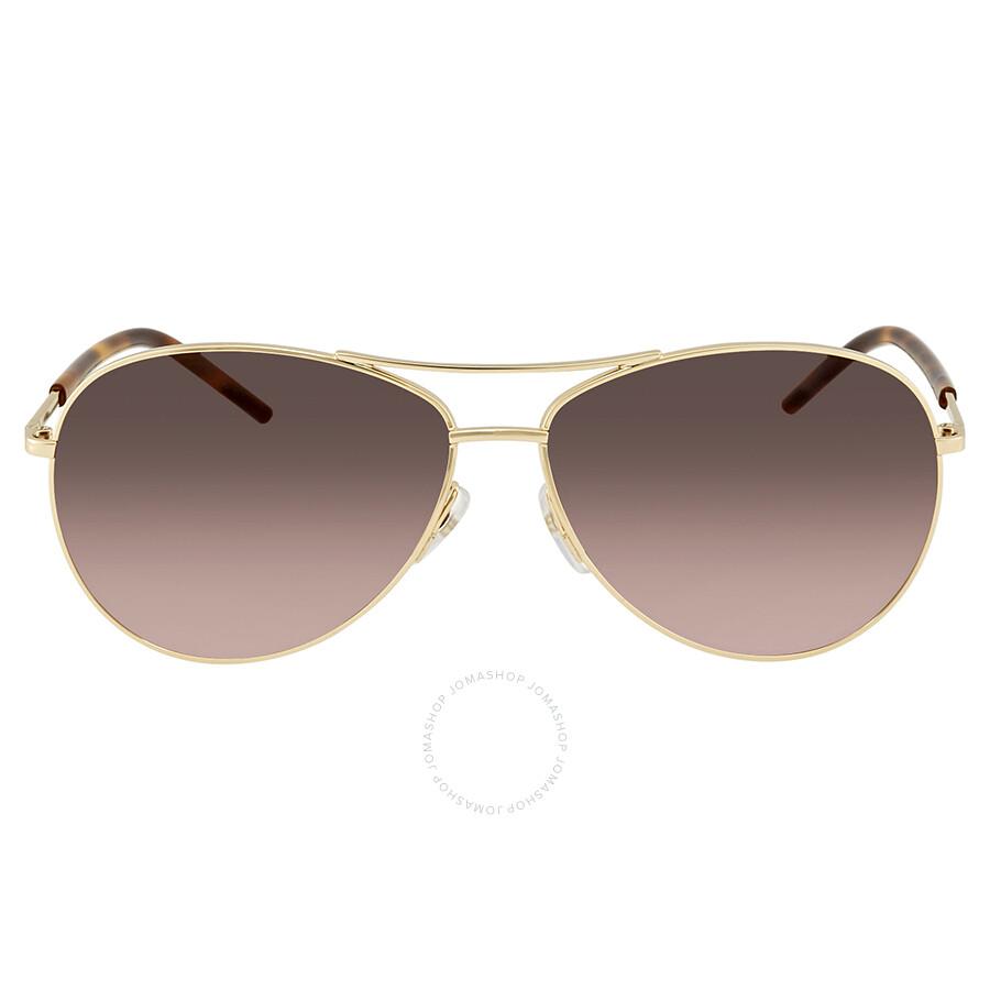 88bd828595c ... Marc Jacobs Marc Brown Gradient Aviator Ladies Sunglasses MARC 59 S  0TAV LA 59 ...
