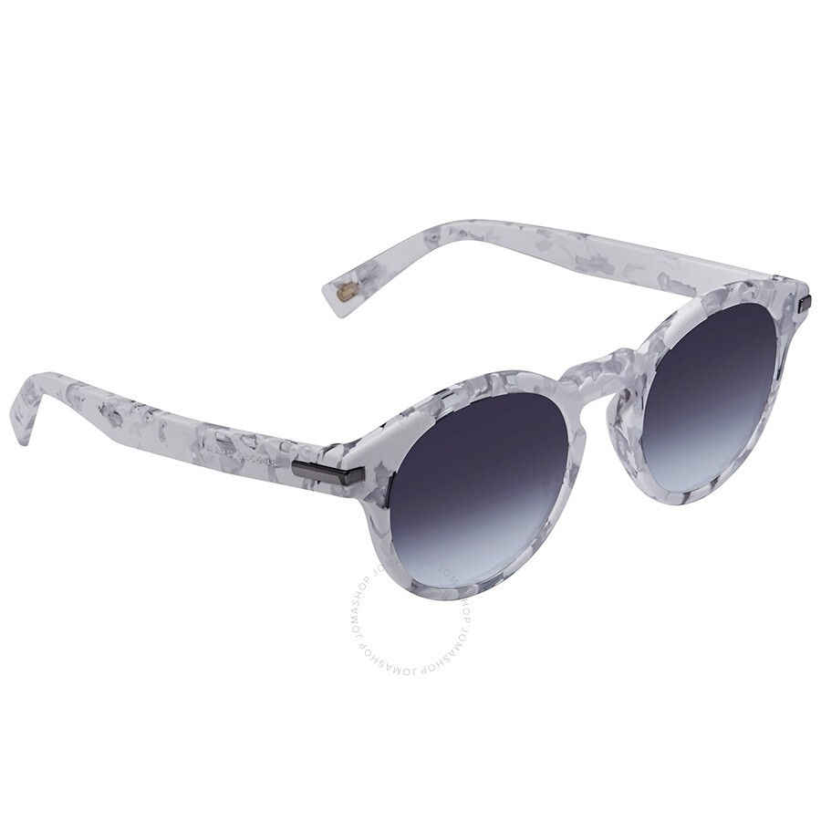 c39f44c76ed0d Marc Jacobs Marc Dark Gray Gradient Round Ladies Sunglasses MARC184S 0YRC  9O 49 ...