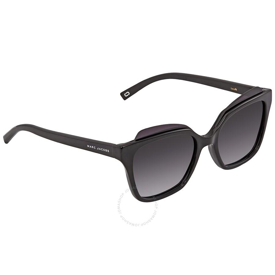 cafe26f09d6e Marc Jacobs Marc Dark Gray Gradient Square Ladies Sunglasses MARC 106/S  0D28 54 Item No. MARC 106/S 0D28 54