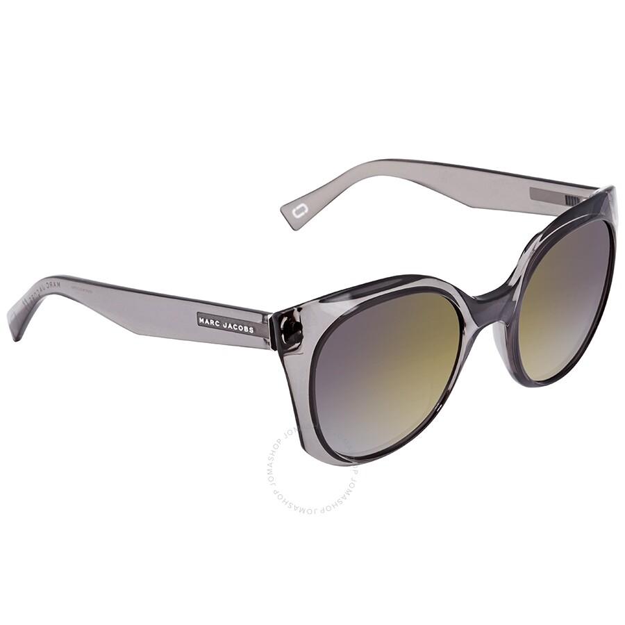 899700c34b96 Marc Jacobs Marc Gray Gold Gradient Cat Eye Ladies Sunglasses MARC 196/S  0KB7 52 Item No. MARC 196/S 0KB7 52