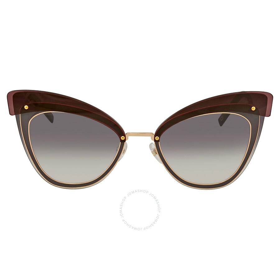 1b2ea0f411d ... Marc Jacobs Marc Grey Gradient Cat Eye Ladies Sunglasses MARC100S 0DDB  9C 64 ...