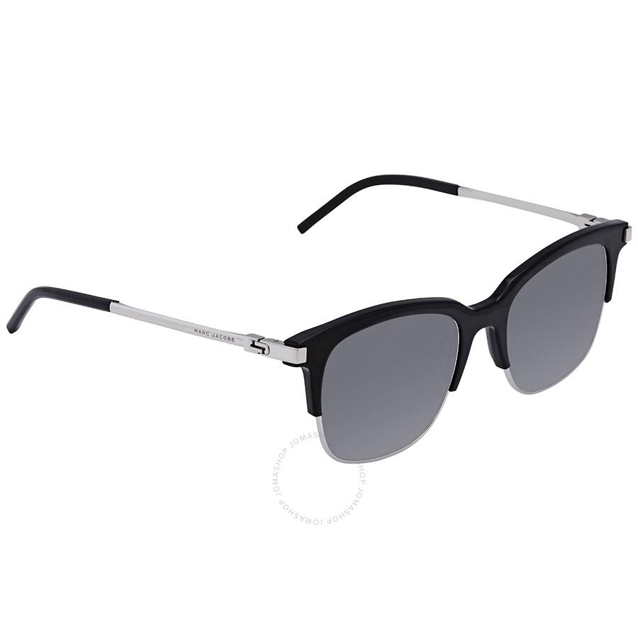 c068fba69074 Marc Jacobs Marc Grey, Blue Square Ladies Sunglasses MARC 138/S 0CSA 51 ...