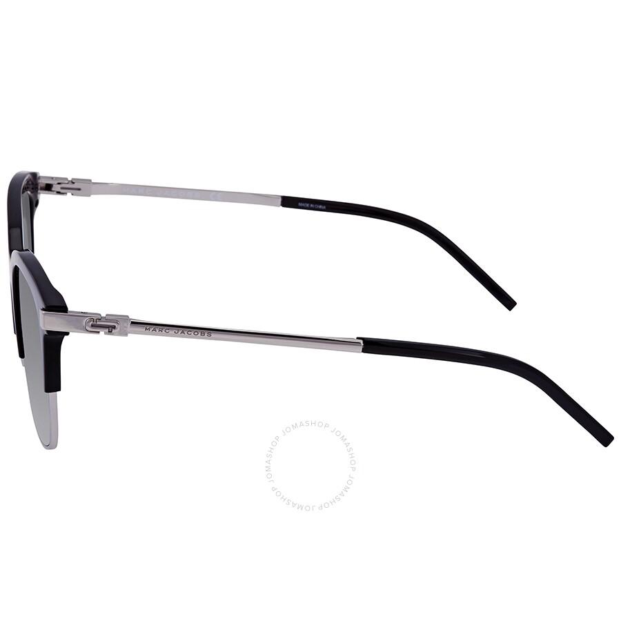 0d0b3c6f6b41 ... Marc Jacobs Marc Grey, Blue Square Ladies Sunglasses MARC 138/S 0CSA 51