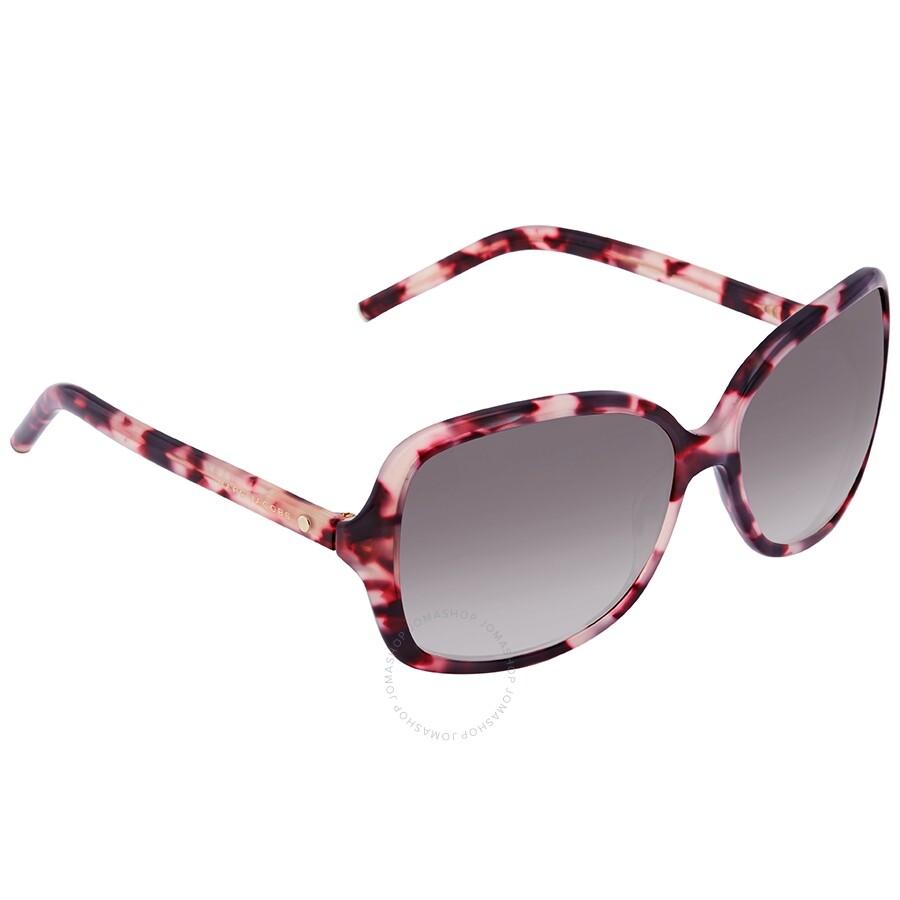 c03dce62e25 Marc Jacobs Marc Mauve Gradient Rectangular Ladies Sunglasses Item No. MARC  68 S 0U1Z J8 59